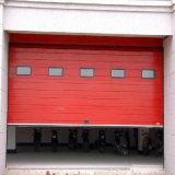 Дверь безопасн автоматической секционной двери гаража индустрии промышленная надземная (HF-003)