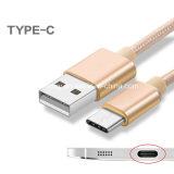 전화 부속품은 비용을 부과 및 데이터 Tansfer 유형 C USB 케이블 단식한다