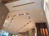 Diffuseur linéaire de fente de bureau en aluminium de plafond