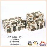골동 가구 장식적인 저장 상자 보석 상자 선물 상자