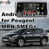 Interfaccia Android del sistema di percorso di GPS video per Peugeot 208 Mrn Smeg+