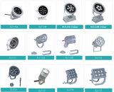 외부 휴대용 9W 24V LED 옥외 플러드 백색 반점 및 정원 램프