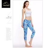 """2017 calças """"sexy"""" da ioga das mulheres elevadas do desgaste da ioga da elasticidade"""