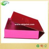 4 rectángulos de empaquetado plegables de la bandeja de la tapa de la imagen doble por la lámina del extremo de la esquina del rodillo (CKT-CB-655)