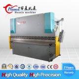 Máquina de dobra hidráulica da espessura 5mm de Wf67y-100t 3200