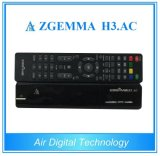 HD 리눅스 OS Enigma2는 쌍둥이 조율사 Zgemma H3 코어 DVB-S2+ATSC 이중으로 한다. AC 멕시코 또는 미국 인공 위성 수신 장치 상자
