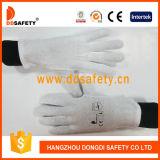 Ddsafety 2017 heller mittlerer Gewicht-Baumwollprüfer-Parade-Handschuh-Sicherheits-Handschuh