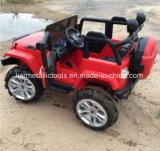 2개의 모터 및 12V 건전지를 가진 아이 지프 차