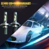 Fanless todo em uma lâmpada de cobre macia do carro do diodo emissor de luz da correia H4 auto com Longo-Tempo