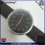 Yxl-394 형식 좋은 품질 스테인리스 숙녀 시계 가죽끈 호리호리한 손목 시계 석영 매력적인 여자 시계