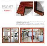 Deur van het Aluminium van de Deur Slding van het Frame van het aluminium de Houten