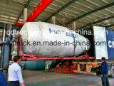 Embalaje de contenedores Ensamblaje de tanque mezclador de hormigón de 3-9 m3