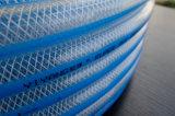 유연한 섬유에 의하여 강화되는 PVC 물 호스