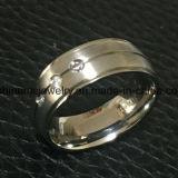 Ringen Van uitstekende kwaliteit van het Titanium van de Prijs van de Juwelen van Shineme de Beste (TR1821)