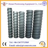 Post-tension Corrugated Round and Flat HDPE Plastic Duct