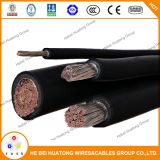 Rhh/Rhw 2kv 600 Mcm XLPE PV Kabel-Solarkabel, photo-voltaischer Draht, Typ PV-Kabel, PV1-F UL