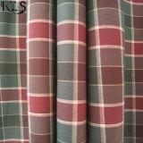 Färbte Baumwollpopelin-gesponnenes Garn 100% Gewebe für Hemden/Kleid Rls50-29po