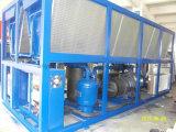 Ar em forma de caixa tipo de refrigeração refrigerador do parafuso do glicol com compressor de Hanbell