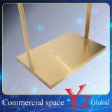 El estante de exhibición (YZ161807) de acero inoxidable soporte de exhibición estante de exhibición de la exposición de la suspensión del estante del estante del estante Promoción