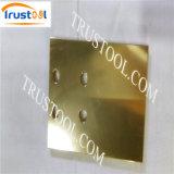 真鍮の軸継手CNCの回転