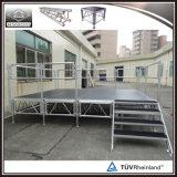 Piattaforma mobile di alluminio della fase di evento del compensato da vendere