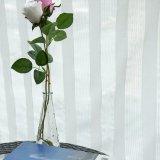 Ткань занавеса живущий маркизета жаккарда комнаты Linen отвесная