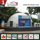 イベントのための防水カバー測地線ドームのテント50フィートのフレームの構造