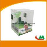 Напечатанная таможней прозрачная коробка PVC упаковки для куклы