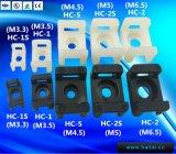 Con tornillo Nylon66 Tipo de silla de montar Cable Clip Cable Tie Mounts