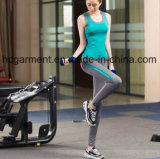 Terno dos esportes das mulheres, roupa Running para a senhora