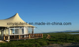 De waterdichte Tent van de Klok van het Hotel van de Tenten van de Safari van het Canvas van de Luxe Mouldproof
