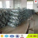 Gewundener Seil-Netz-Steigung-Schutz-Maschendraht