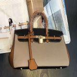 Handtassen van de Dames van de Zak van het Leer van de Vrouwen van de manier de In het groot voor Bureaus en het Winkelen met een Slot Sy8542