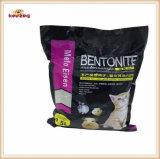 Относящие к окружающей среде естественные постельные принадлежности бентонита любимчика/сор кота (KJ0003)