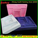 Casella cosmetica trasparente squisita di imballaggio di plastica dei prodotti di cura di pelle di modo