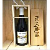 Contenitore di regalo superiore del vino del pino di 2016 vendite