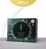 Rectángulo determinado del cosmético rígido impermeable exquisito de la cartulina con el cajón