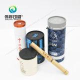 Estanhos rígidos de venda quentes do chá da alta qualidade do projeto da impressão da forma