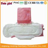 アフリカの綿の女性パッド、陰イオンの生理用ナプキンのための2015人の熱い販売法の使い捨て可能な女性の生理用ナプキン