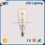 LED bombilla decorativa de la venta caliente del bulbo e27 2700K del RGB LED de la emergencia del diodo