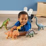 Dinosaurios enormes vendedores calientes que aprenden los juguetes
