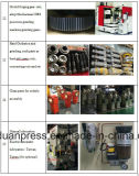 160ton 펀치 기계를 각인하는 방열기 금속
