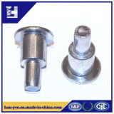 OEM Black ou Silver Zinc Plated Step Rivet