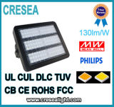 UL cUL Dlc Philiphs SMD 3030 Meanwell 운전사 80W 120W 160W 200W LED 플러드 빛
