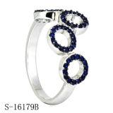 간명 925 순은 지르코니아 여자 반지 (S-10186)