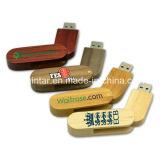 Hölzernes USB-Stock Thumbdrive Flash-Speicher-Schwenker USB-Blitz-Laufwerk