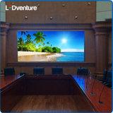 解決を広告するための屋内フルカラーの大きいLEDスクリーンの旗