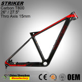 Superlight рамка велосипеда горы волокна углерода OEM 26er 27.5er T800