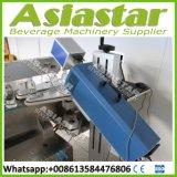 Água engarrafada automática que enxágua a linha de embalagem tampando de enchimento da máquina