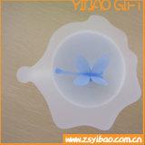 Coperchio su ordinazione della tazza del silicone per i regali di promozione